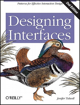 Designing Interfaces By Tidwell, Jenifer